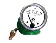 Termômetro Água 40-110ºC Red. 60mm M14 x 1,5 Cabo 1,40 mt.