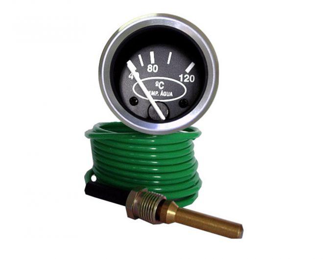 Termômetro Água 40-120ºC Red. 60mm M10 x 1,0 Cabo 3,50 mt.