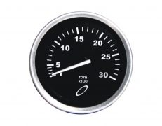 Tacômetro 3000RPM 864Hz – 80mm – 12V