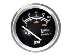 Manômetro do Óleo 0-100Psi 52mm – 24V