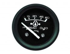 Manômetro do Óleo 0-60Psi – 52mm – 12V